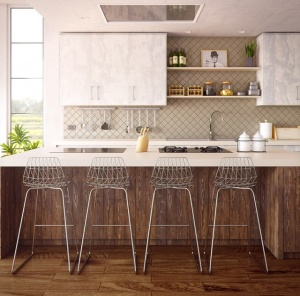 Renovation in the kitchen