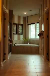 Can a Charlotte NC bathroom remodel include floor heating?